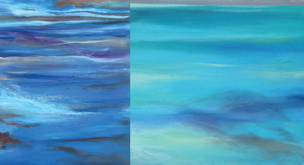 ocean painting gallery by Kauai artist Donia Lilly