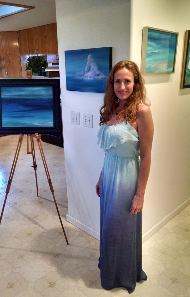 Donia Lilly Kauai Artist and Art Tour founder and producer Hawaii