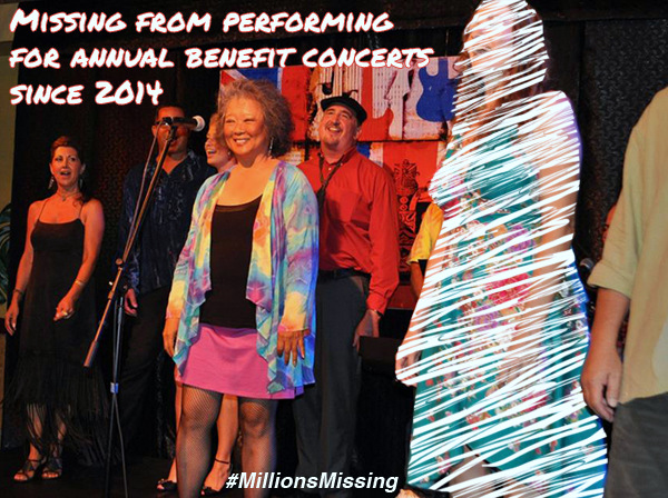 Millions Missing Performing for Annual Benefit Concert Kauai Hawaii Donia Lilly Malama Pono 2014