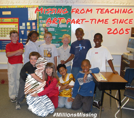 Millions Missing Special Needs VSA Art Teacher Donia Lilly 2005