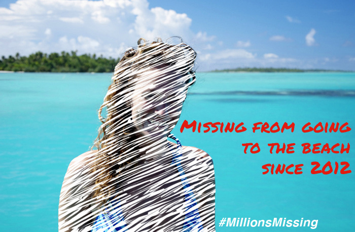 Millions Missing Tropical Beach excursions Donia Lilly since 2012