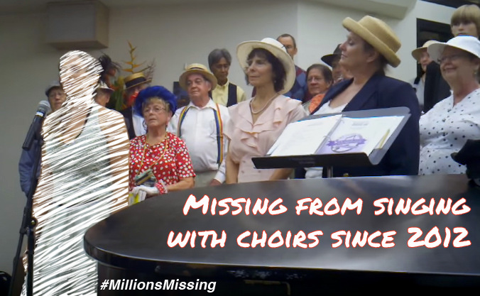 MillionsMissing Singing with Elite Choir Donia Lilly since 2012