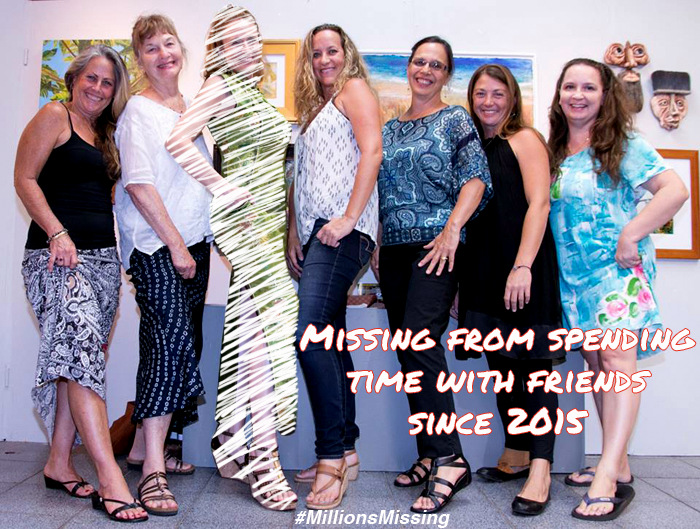 Millions Missing from Spending time with friends kauai hawaii 2015